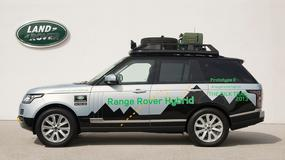 Range Rover otrzymał napęd hybrydowy
