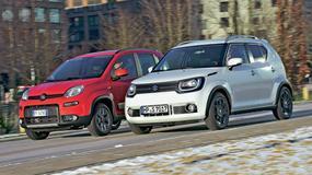 Fiat Panda kontra Suzuki Ignis - czy miejskie auta z napędem 4x4 zawstydzą SUV-y?