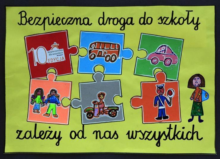 Znalezione obrazy dla zapytania bezpieczna droga do szkoły