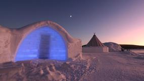 Szwecja - lodowy hotel