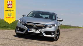 Honda Civic sedan 1.5 VTEC Turbo – dynamiczna i wygodna