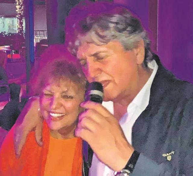 Radoš Bajić i supruga Milena