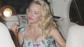 Zmęczona Pamela Anderson