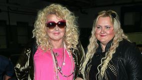 Magda Gessler i Manuela Michalak na pokazie mody. Fryzury nawet podobne