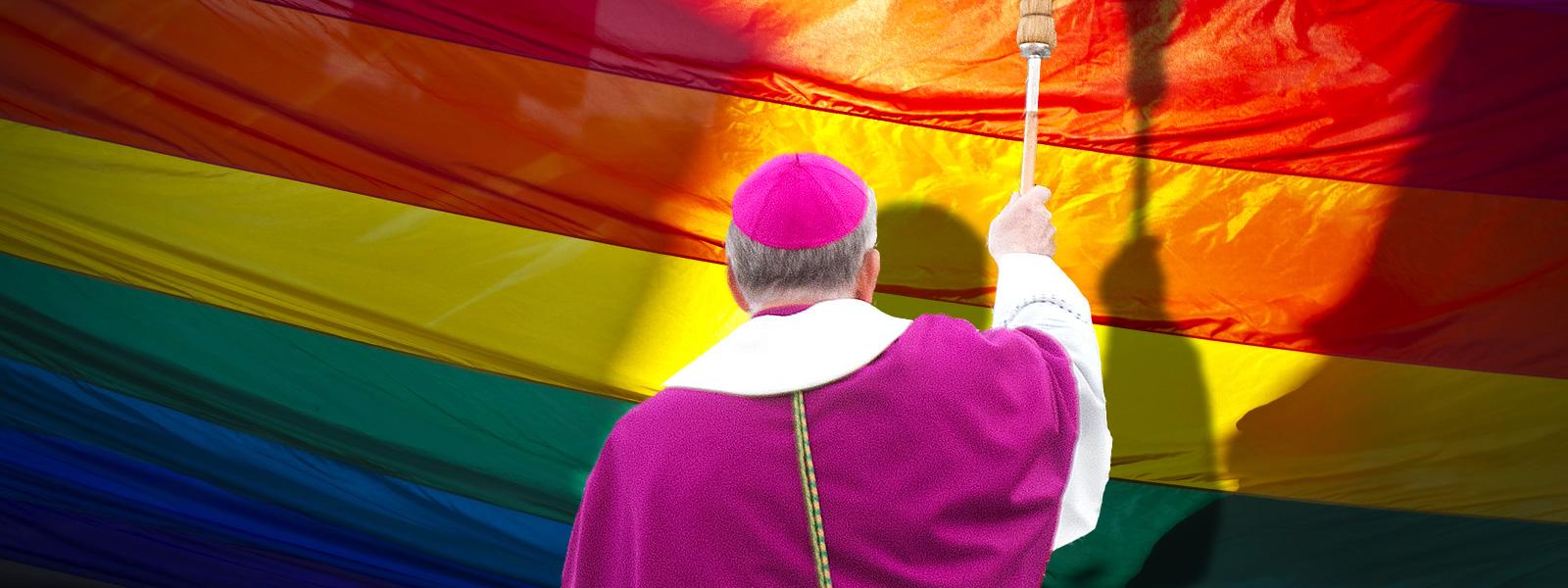 """Według telewizji Trwam ataki wobec duchowieństwa, wiernych i Kościoła katolickiego mają źródło w """"ideologii LGBT"""