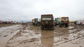 Dakar 2017: biwak na wodzie (galeria)