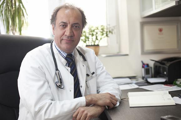 Prof. dr Dragan Simić, načelnik Odeljenja za aritmologiju i kliničku kardiologiju u Kliničkom centru Srbije