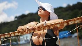 Maria Zarring ma największy biust na Krymie