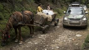 Skodą Yeti w Karpatach dla zuchwałych