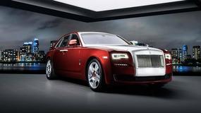 Wyjątkowy Rolls-Royce Ghost Red Diamond