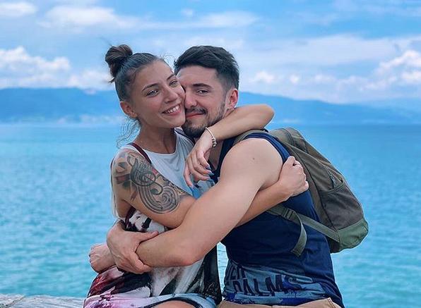 Gute Marinković i Elena Milenkovska