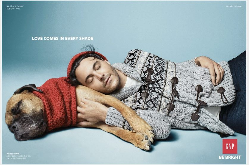 Jack Huston w reklamie GAP'a