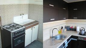 Jak urządzić małą kuchnię w bloku? Metamorfoza kuchni Kasi Ogórek, autorki bloga Twoje DIY!