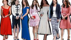 35 najlepszych stylizacji Kate Middleton z 2016 roku