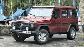 Mercedes 560 GE - G jak gigant