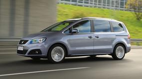Seat Alhambra 2.0 TDI 4drive - Rodzinny van 4x4
