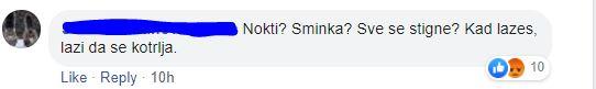 Jedan od komentara