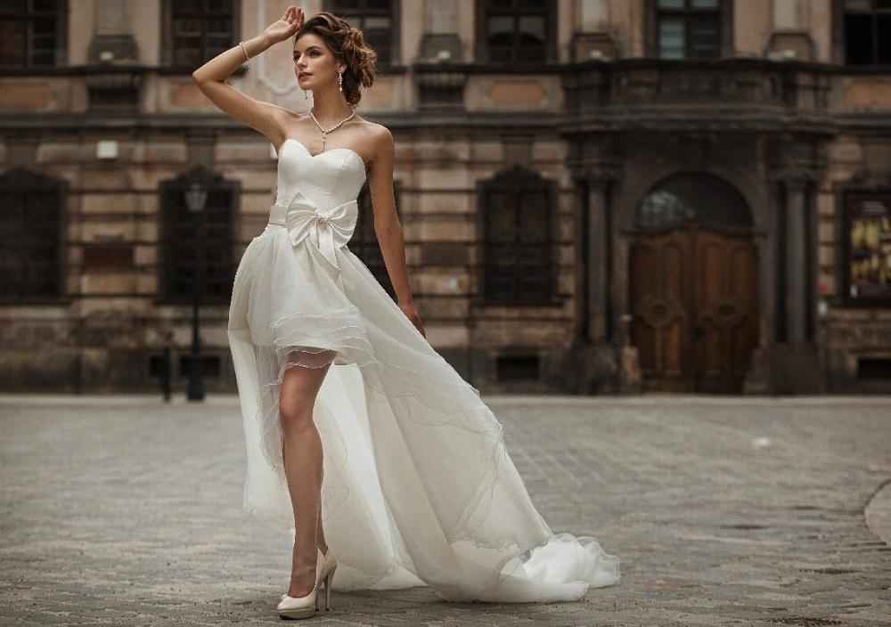 Aktualne Krótkie suknie ślubne - Ślub OS13