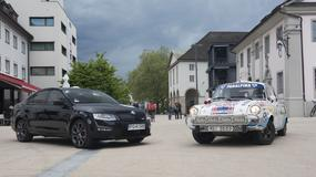 Octavia RS kontra Skoda 1000 MB Rally