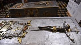 Sarkofagi królewskie po konserwacji w katedrze na Wawelu