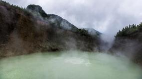 Wrzące Jezioro w sercu Karaibów