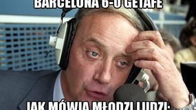 Barcelona bezlitosna dla Getafe - memy po meczu