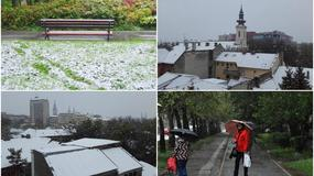SNEŽNA DRAMA ILI PROLEĆNA BAJKA Neki uživaju u prizorima aprilskog snega, dok se drugi probijaju kroz kijamet