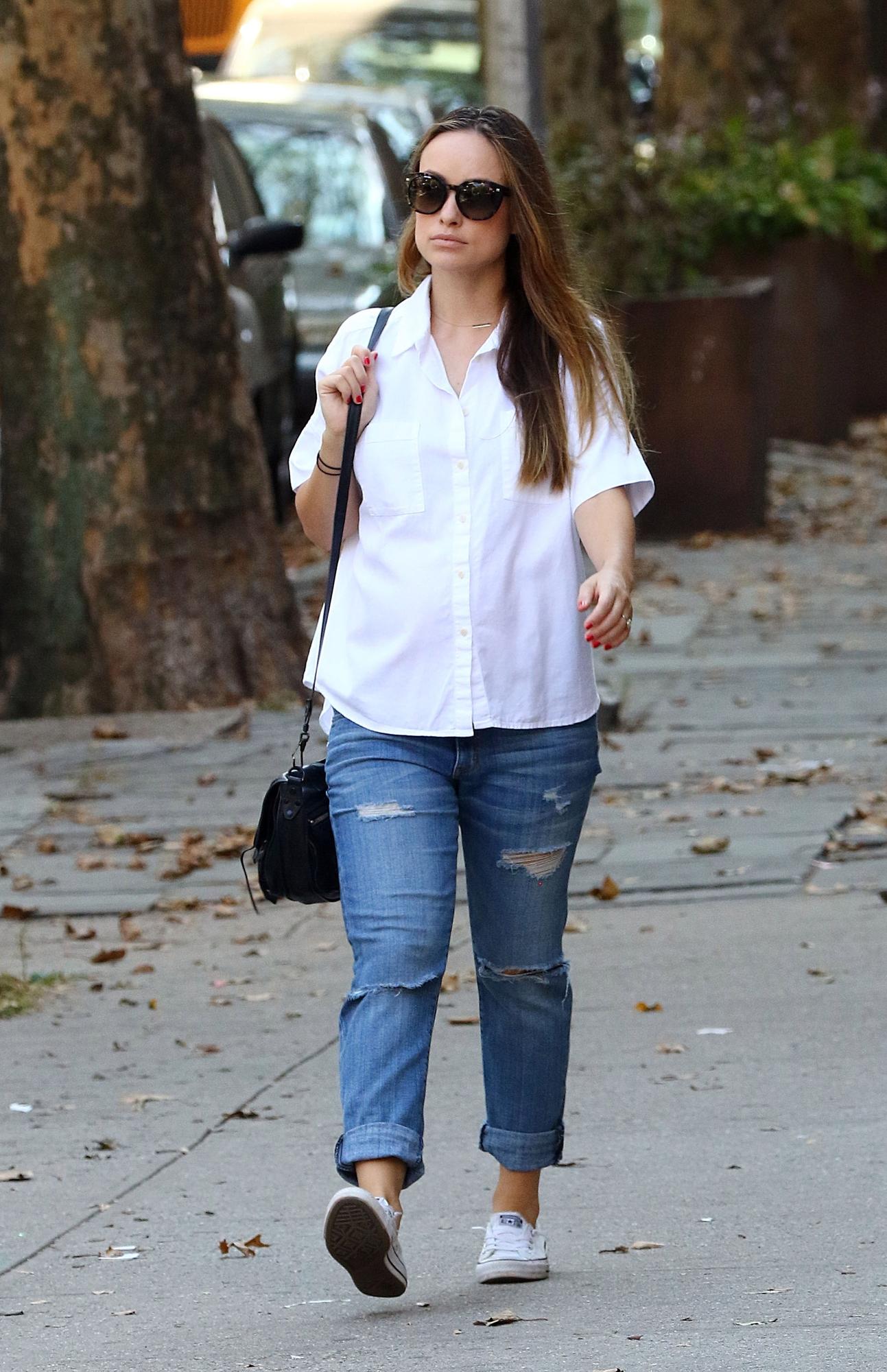 Gwiazdy kochają białe koszule Moda  xQcjE