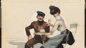 Edward Hopper w rysunkach