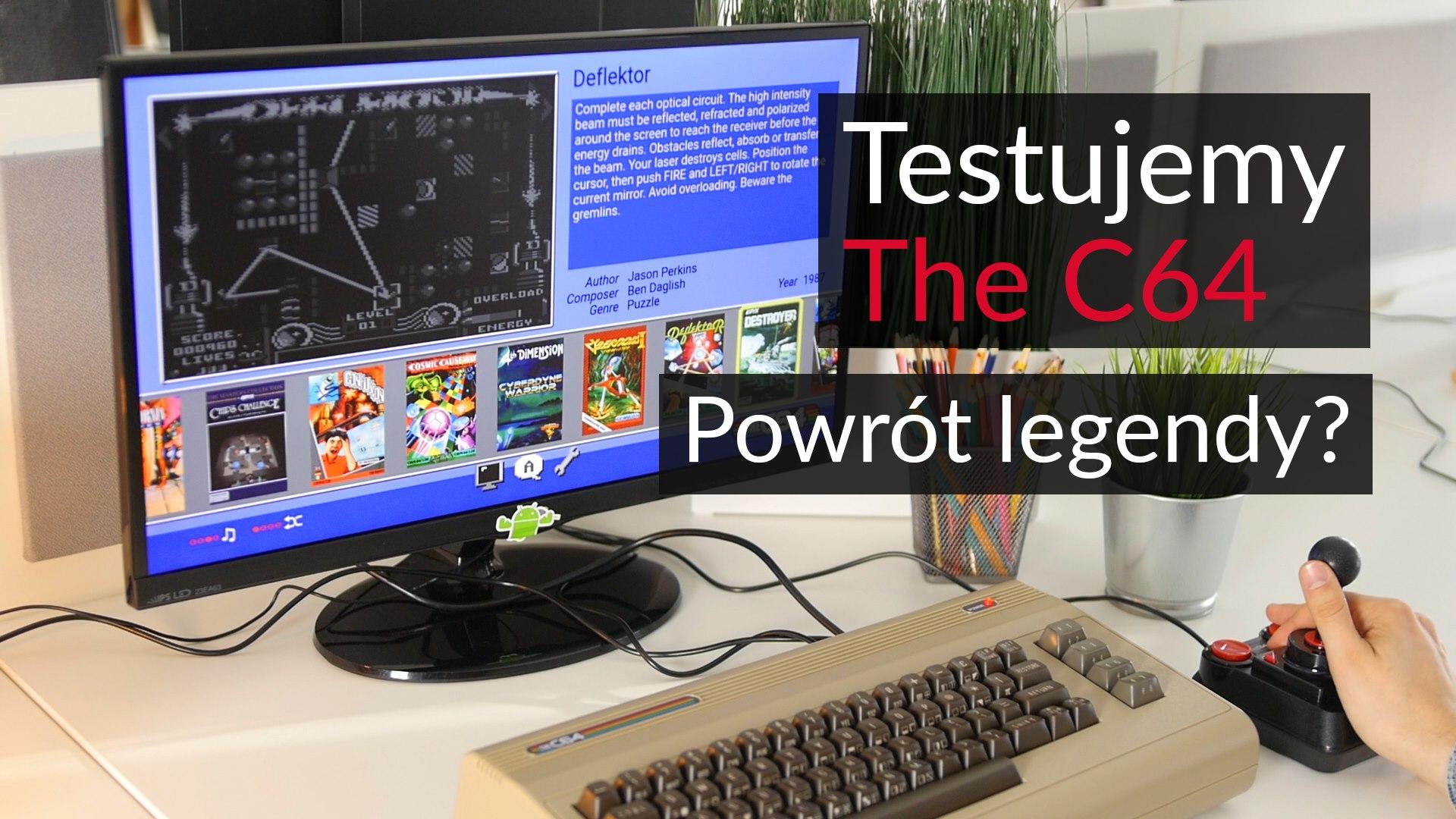 Testujemy The C64 Powrót Legendy