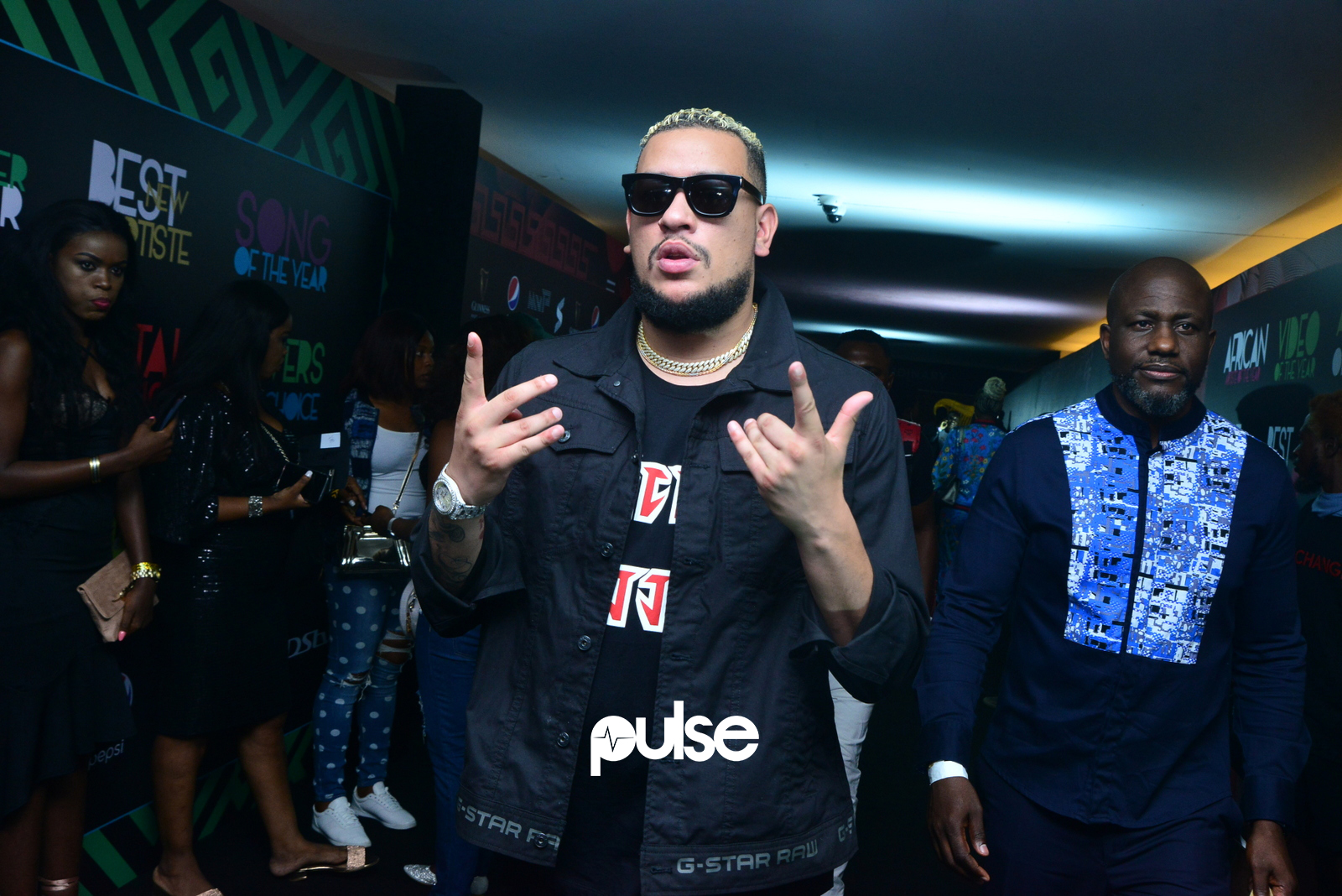 AKA took home 'Best Hip Hop' at the SMVA 2018