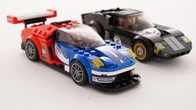 Wyścigowe Fordy z klocków LEGO