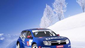 Dacia Duster na lodzie
