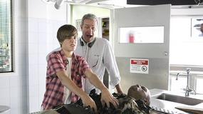 Justin Bieber na planie serialu