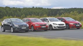 Honda Civic kontra Opel Astra, Peugeot 308 oraz Skoda Octavia - porównanie kompaktowych kombi