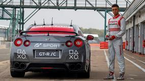 Zdalnie sterowany Nissan GT-R okrążył Silverstone!