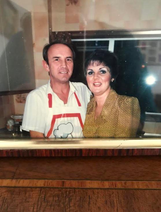 Suzan Parker sa pokojnim suprugom Džonom