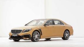 Mercedes Brabus S63 AMG - złoto i potworna moc