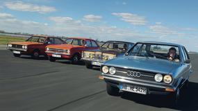 Klasa średnia lat 70. - Audi 80 kontra Volkswagen Passat, Opel Ascona i Ford Taunus
