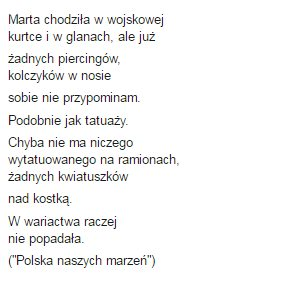 Wiersze Jarosława Kaczyńskiego