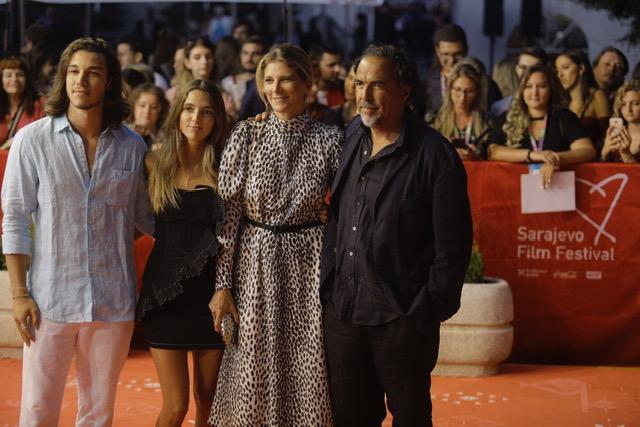 Alehandro Gonsales Injaritu sa porodicom