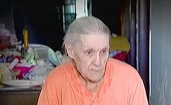 Gizela Vuković pred kraj života