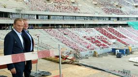Premier z wizytą na Stadionie Narodowym