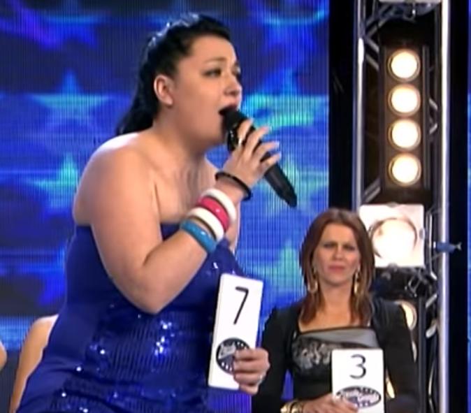 Sandra Rešić u takmičenju