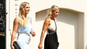 Caroline Wozniacki i Angelique Kerber na ślubie Radwańskiej - która prezentowała się lepiej?