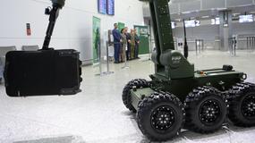 Lotnisko w Balicach ma nowego robota-antyterrorystę