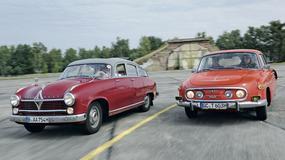 Borgward Hansa 2400 kontra Tatra 603-2 - nietypowa klasa wyższa