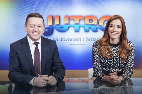 """KONAČNA ODLUKA: TV """"Prva"""" se oglasila povodom ODLASKA Jovane Joksimović i Srđana Predojevića!"""