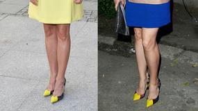 Foremniak i Dereszowska w takich samych butach