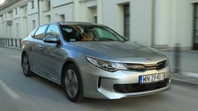 Kia Optima Hybrid - bez benzyny ani rusz